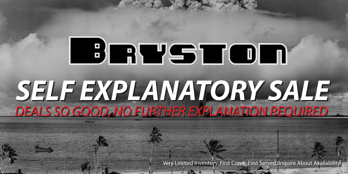 Bryston-Blowout-Banner-Update TV & Stereo