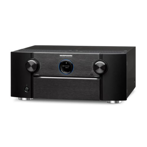 Marantz SR7011 9.2 Channel Network AV Receiver with HEOS built in - Front Angle - Update TV & Stereo