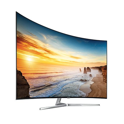 Samsung KS9500 Series Supreme SUHD 4K LED Smart TV - Front Angle - Update TV & Stereo