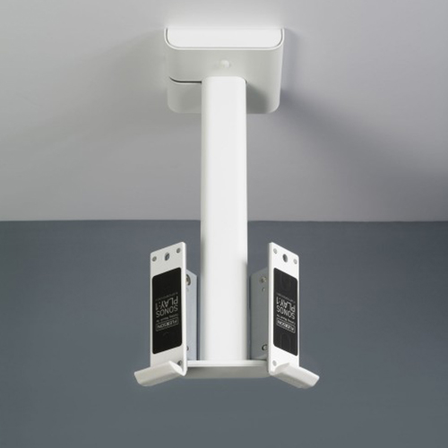 Flexson Ceiling Mount For 2 Sonos Play 1 Speakers Single