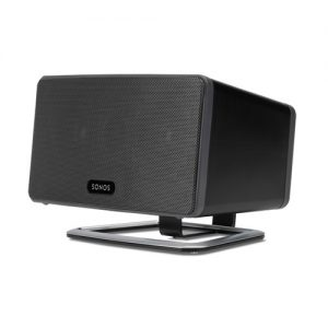 Flexson-Desk-Stand-for-Sonos-Play-3-Speaker-Black---Update-TV-&-Stereo