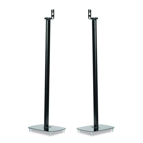 Flexson-Pair-of-Floor-Stands-for-Sonos-Play-1-Black---Update-TV-&-Stereo