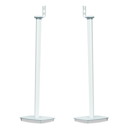 Flexson-Pair-of-Floor-Stands-for-Sonos-Play-1-White---Update-TV-&-Stereo