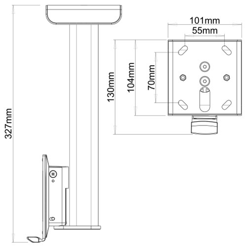 Flexson-Sonos-Play-1-Ceiling-Mount-Diagram---Update-TV-&-Stereo