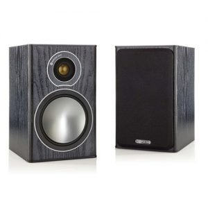 Monitor-Audio-Bronze-1-Black-Bookshelf-Speakers---Update-TV-&-Stereo