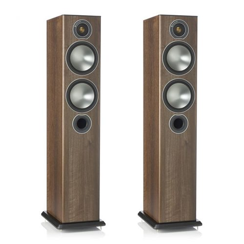 Monitor-Audio-Bronze-5-Tower-Speakers-Walnut---Update-TV-&-Stereo