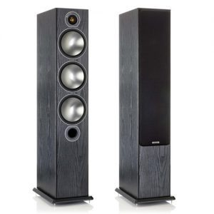Monitor-Audio-Bronze-6-Tower-Speakers-Black---Update-TV-&-Stereo