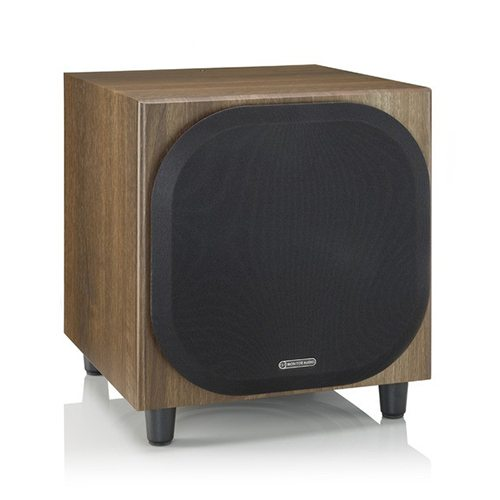 Monitor-Audio-Bronze-W10-Subwoofer-Walnut-Grill---Update-TV-&-Stereo