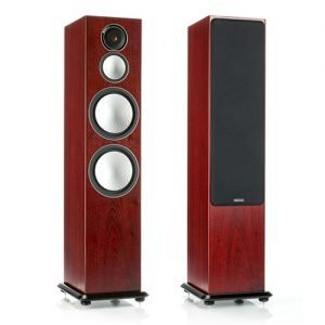 Monitor-Audio-Silver-10-Tower-Speakers-Rosenut---Update-TV-&-Stereo