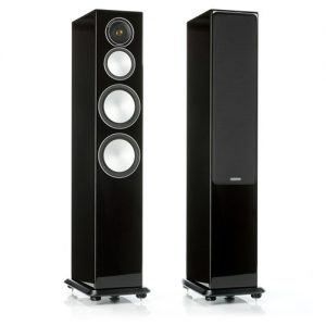 Monitor-Audio-Silver-8-Gloss-Black-Tower-Speakers---Update-TV-&-Stereo