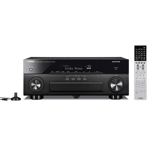 Yamaha aventage rx a760 7 2 channel av receiver update for Yamaha tv receiver