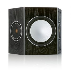 Monitor-Audio-Silver-FX-Surround-Speaker-Black-Oak---Update-TV-&-Stereo