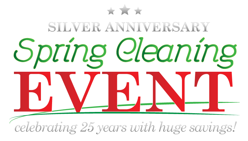 Image result for 25th anniversary spring sale banner