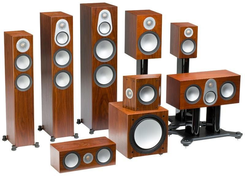 Monitor Audio 6th Generation Silver Series Family of Speakers - Update TV & Stereo