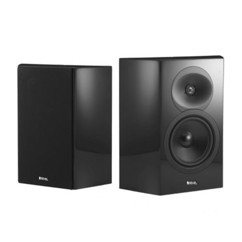 Revel-Concerta2-S16-On-Wall-Speakers-Gloss-Black---Update-TV-&-Stereo