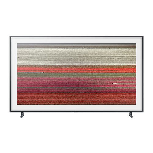 Samsung-The-Frame-LS003-4K-UHD-TV-Front-Update-TV-&-Stereo