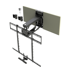 MantelMount MM700 Pro Pull Down TV Wall Mount Update TV & Stereo