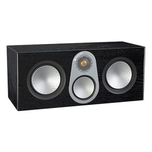 Monitor-Audio-C350-Center-Speaker-Black-Oak-Veneer-Update-TV-&-Stereo