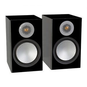 Monitor-Audio-Silver-100-Black-Gloss-Update-TV-&-Stereo
