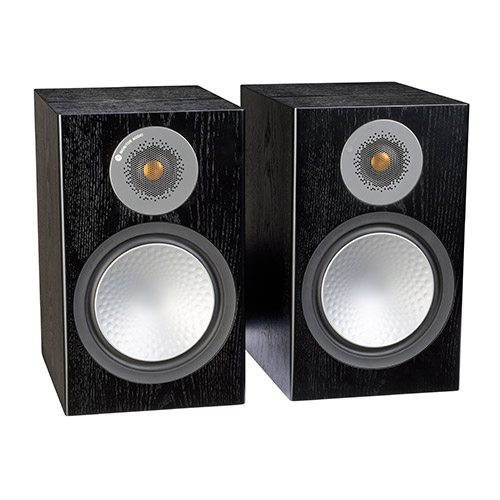 Monitor-Audio-Silver-100-Black-Oak-Update-TV-&-Stereo