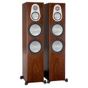 Monitor-Audio-Silver-500-Walnut-Update-TV-&-Stereo
