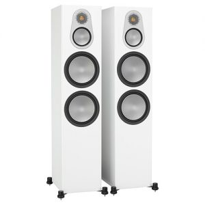 Monitor-Audio-Silver-500-White-Update-TV-&-Stereo