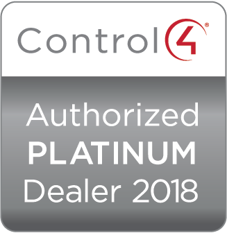 Control4 Authorized Platinum Dealer 2018 Update TV & Stereo